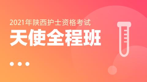 2021年陕西护士资格考试-天使全程班